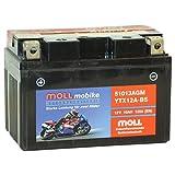 Moll mobike AGM Motorradbatterie YTX12A-BS 10Ah...