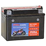 Moll mobike AGM Motorradbatterie CB4L-B Bike-Power...