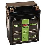 Orbis Gel12-14L-A2 Motorradbatterie - YB14L-A2 12...