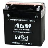 intact Bike-Power AGM 12V 14Ah 81601 YTX16-BS-1