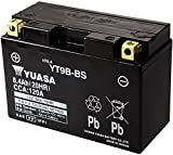 YUASA YT9B-BS Powersports AGM Motorrad Batterie,...
