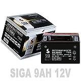 Motorrad Batterie 9Ah - YTX9-BS AGM GEL CTX9-BS...