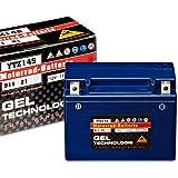 Panther Motorradbatterie Gel 12V 11,5Ah 51121...