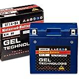 Panther Motorradbatterie Gel 12V 12Ah 51422...