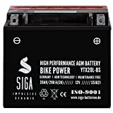 Motorrad Batterie YTX20L-BS AGM Gel 20Ah 12V...