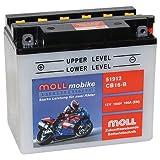 Moll mobike Motorradbatterie CB16-B 19Ah 12V 190A...