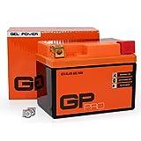 GP-PRO 12V GEL 5Ah GEL Motorrad-Batterie,...
