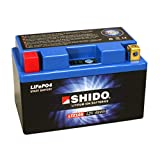 Motorrad Batterie Shido Lithium LTZ10S / YTZ10S,...