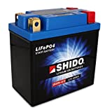 Motorrad Batterie Shido Lithium LB12AL-A2 /...