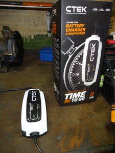 Ctek Batterieauflader - Top Gerät