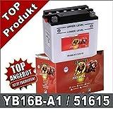 Banner 51615 Motorradbatterie