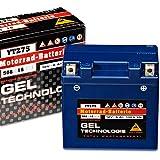 Panther Motorradbatterie Gel 12V 6Ah 50616 YTZ7-S