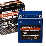 Panther Motorradbatterie Gel 12V 12Ah 51211...