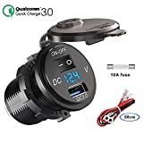 QC 3.0 USB Steckdose KFZ 12V/24V, Quick Charge 3.0...