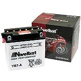Novelbat YB7-A Motorradbatterie 12V 8Ah 90A