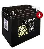 TECNO-GEL Motorrad-Batterie 53030, 12V...