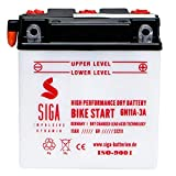 SIGA Motorrad Batterie 6N11A-3A 6V 11Ah 100A/EN...