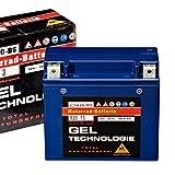Panther Motorradbatterie Gel 12V 18Ah 52013...
