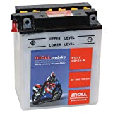 Moll mobike Motorradbatterie CB12A-A 12Ah 12V 120A...