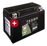 TECNO-GEL Motorrad-Batterie YTX9-BS, 12V...