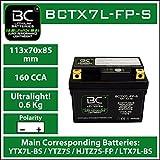 BC Lithium Batteries BCTX7L-FP-S Motorrad...