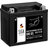 SIGA Gel Motorradbatterie 12V 12Ah 250A/EN Gel...