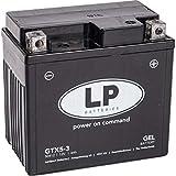 Landport Gel Roller- u. Motorradbatterie GTX5-3...