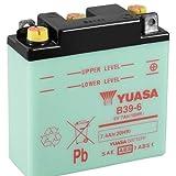 Motorrad Batterie YUASA B39-6 (DC) offen ohne...