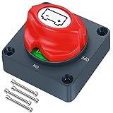 JatilEr Batterietrennschalter 12V/24V,...