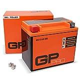 GP-PRO GTX12-BS 12V 10Ah GEL-Batterie (Kompatibel...