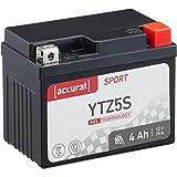 Accurat Motorradbatterie Sport YTZ5S 4 Ah 70 A 12V...