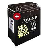 Tecno YB12A-A Gel Batterie XL 600 V Transalp...