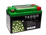 TECNO-ION Motorrad-Batterie TI-T14 Quadpol, 12V...