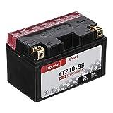 Accurat Motorradbatterie YTZ10-BS 8,6Ah 140A 12V...