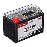 Accurat Motorradbatterie YTX9-BS 9Ah 130A 12V Gel...