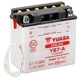 Motorrad Batterie YUASA YB7-A, 12V/8AH (Maße:...