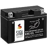 SIGA Gel Motorradbatterie 12V 9Ah 190A/EN Gel...