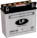Landport 12N5.5-3B Motorrad Batterie 12 V 5,5 AH...