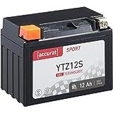 Accurat Motorradbatterie Sport Sport YTZ12S 12 Ah...