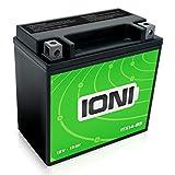 IONI ITX14-BS 12V 12Ah AGM Batterie kompatibel mit...