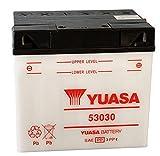 Motorradbatterie Yuasa 53030 12V 30Ah 186 x 130 x...