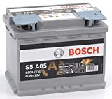 Bosch 0092S5A050 Batterie AGM 12 V 60 mAh 680 A...