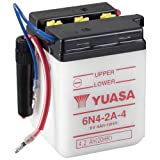 Motorrad Batterie YUASA 6N4-2A-4 (DC) offen ohne...