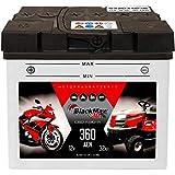 BlackMax Y60-N30-A Motorradbatterie 12V 32Ah...