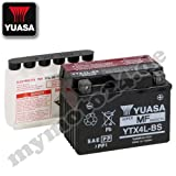 Batterie YUASA-YTX4L-BS, wartungsfrei KYMCO...