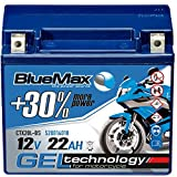 Motorradbatterie 12V 22Ah BlueMax CTX20L-BS GEL...