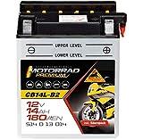 Panther Motorradbatterie 12V 14Ah 51413 YB14L-B2
