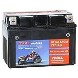 Moll mobike AGM Motorradbatterie YTZ14-S 11Ah 12V...