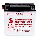 SIGA Motorrad Batterie YB16B-A1 12V 16Ah 175A/EN...