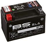 BS Battery 300674 BTX9 AGM SLA Motorrad Batterie,...